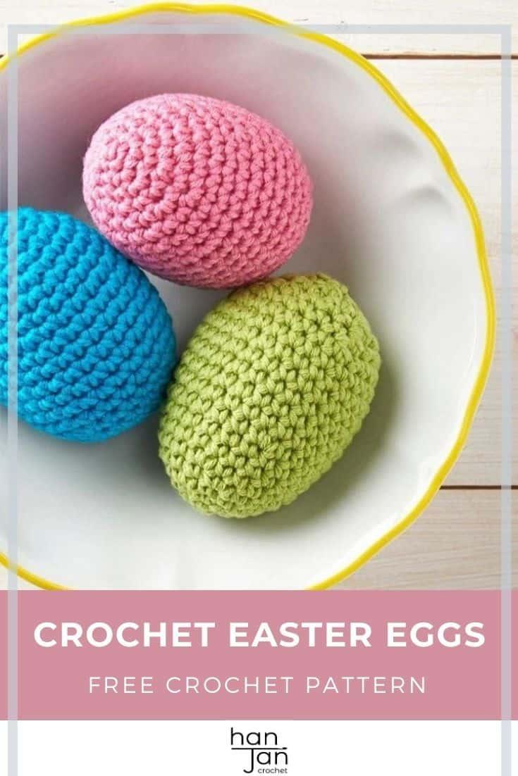 Crochet Easter Eggs Free Amigurumi Crochet Pattern 3
