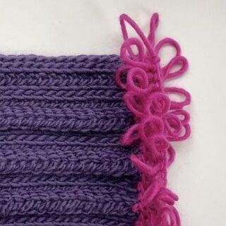 Crochet Loop Stitch Fringe Tutorial
