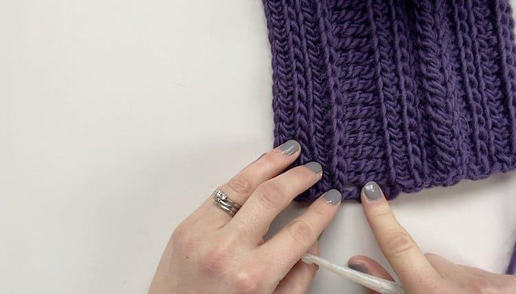 How to crochet a braid tutorial Step 2