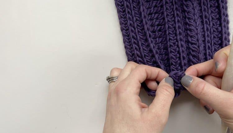 How to crochet a braid tutorial Step 3