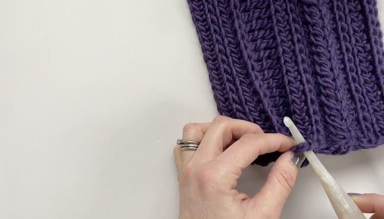 How to crochet a braid tutorial Step 4
