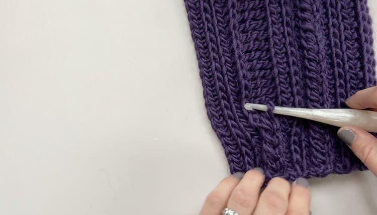 How to crochet a braid tutorial Step 7