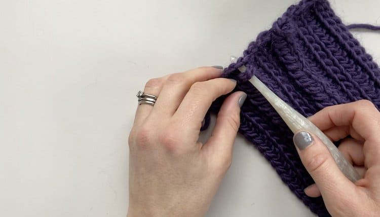 How to crochet a braid tutorial Step 8