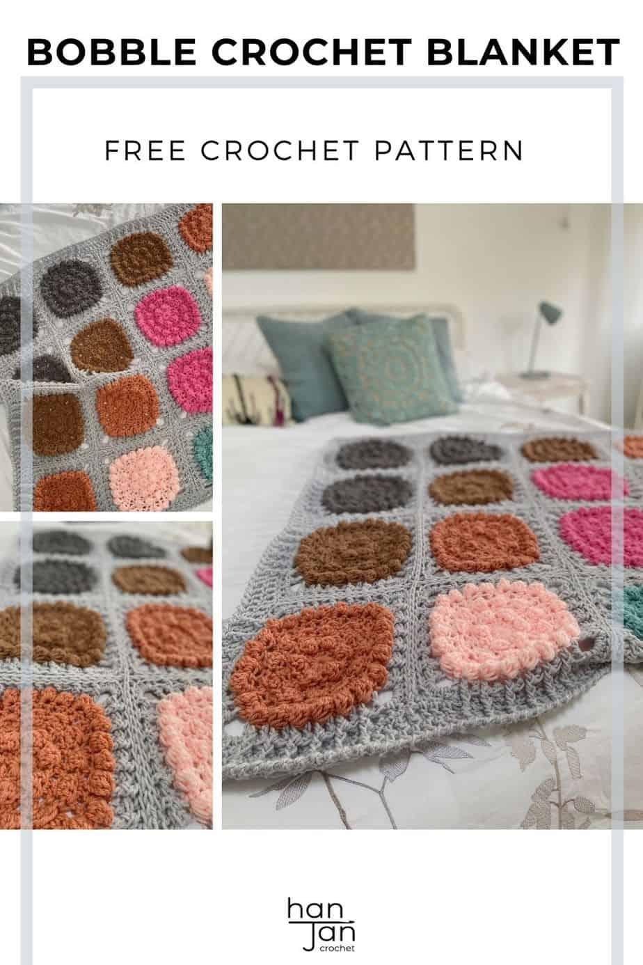 Chunky Crochet Blanket Pattern Super Alexa Blanket pin 2