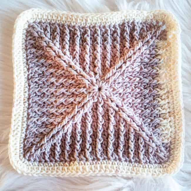 textured granny square pattern free 1