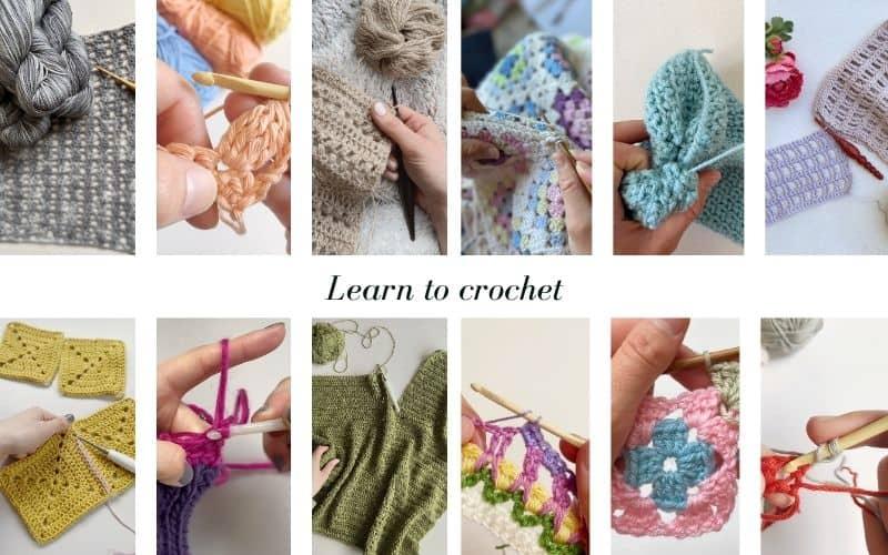 About me HanJan Crochet Learn to crochet Image