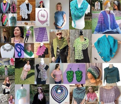 Crochet for Me Lace 2021 Bundle collage 3