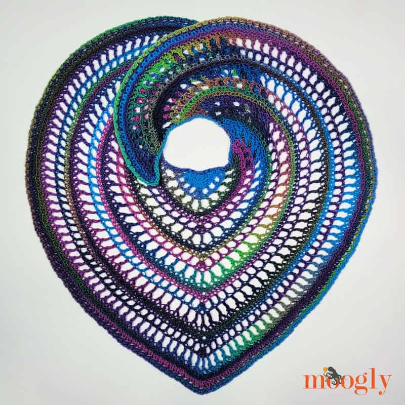 Crochet for Me Moogly Circe Shawl 1