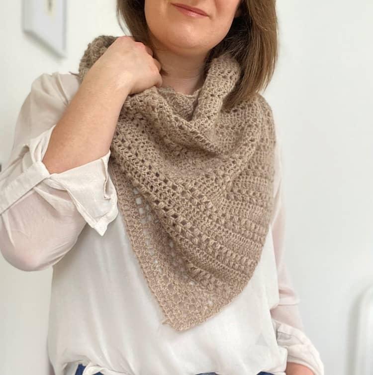 Richmond Boomerang Crochet Shawl Pattern 2