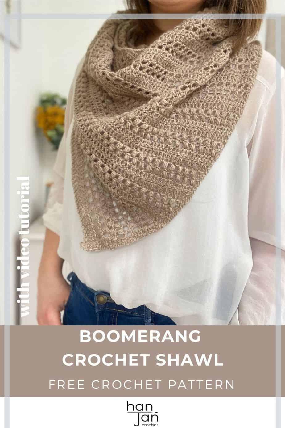 Richmond Crochet Boomerang Shawl Pattern Pin 4