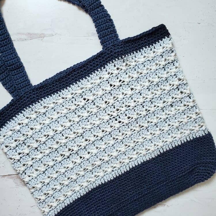 crochet tote beach bag pattern