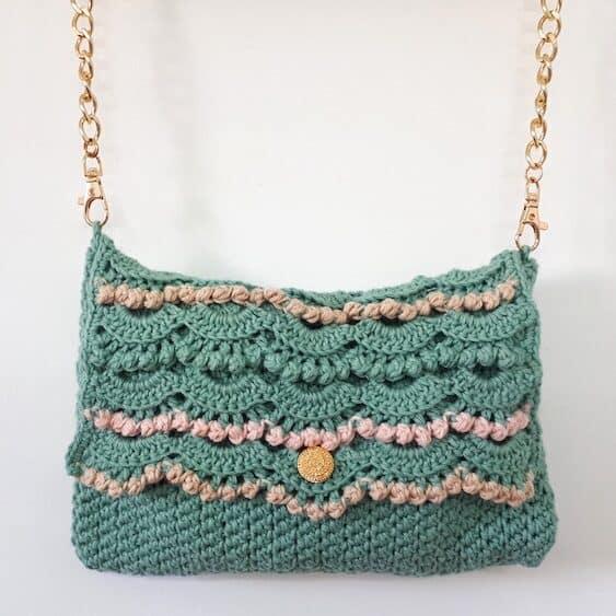 delicate crochet clutch bag pattern