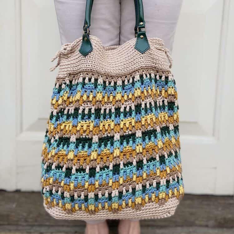 mosaic crochet bag pattern