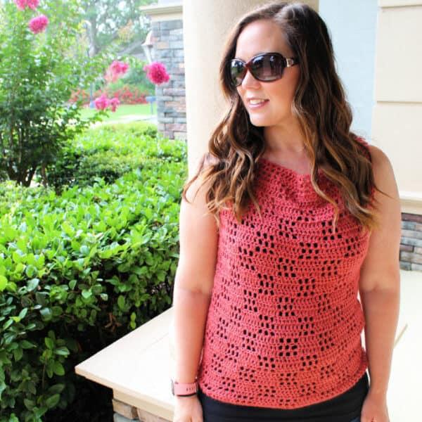 summer crochet tee pattern
