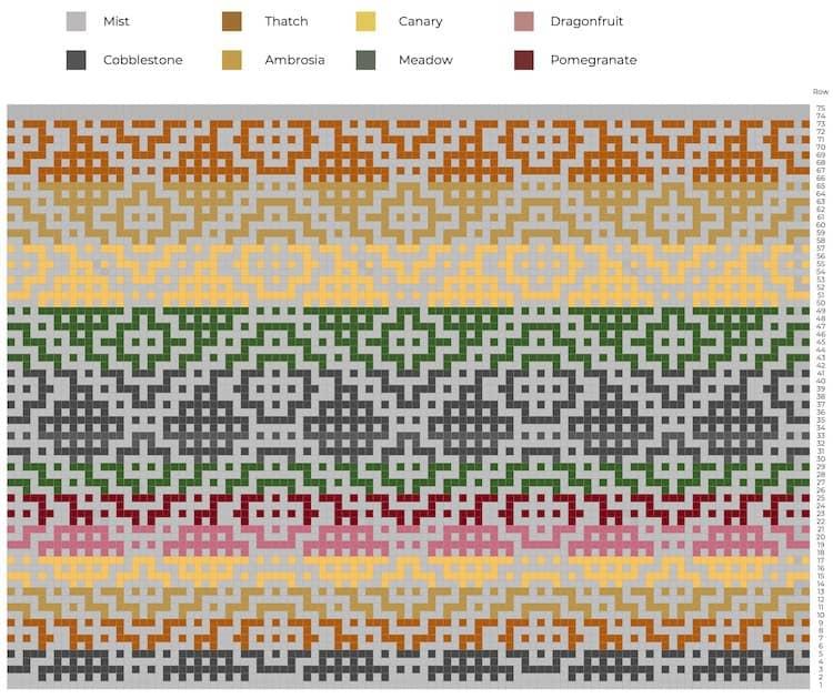 mosaic crochet chart