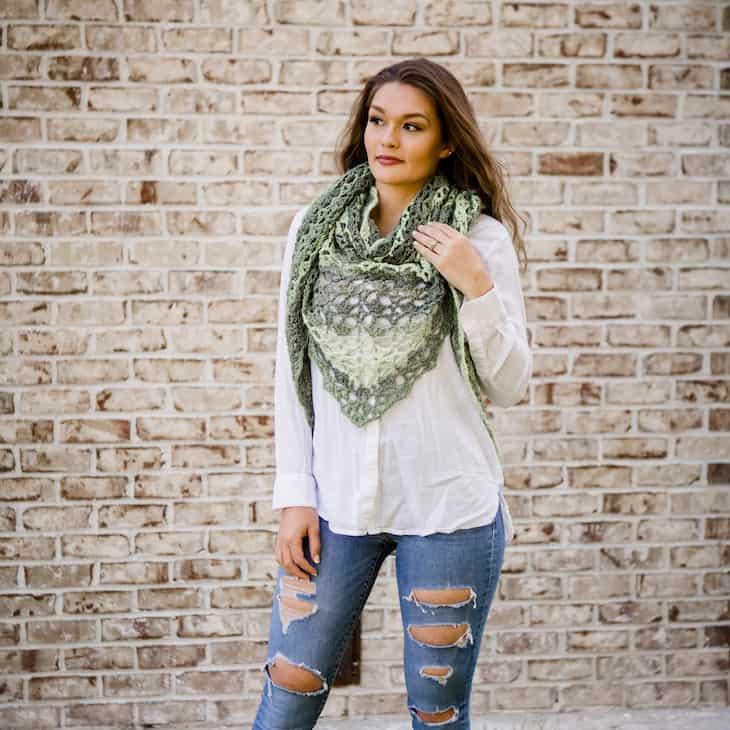 summer crochet shawl pattern