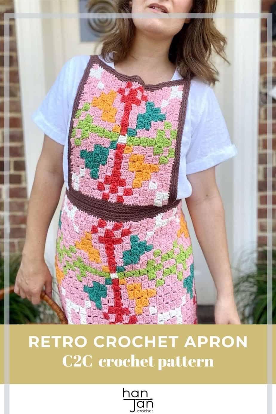 C2C Crochet Apron Pattern