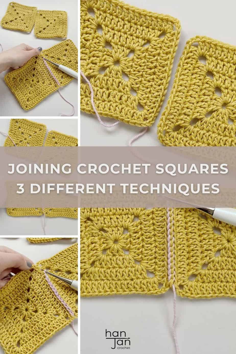 joining crochet squares together