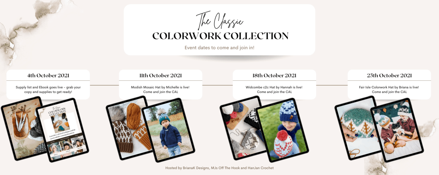 Classic Colorwork Collection Timeline 1
