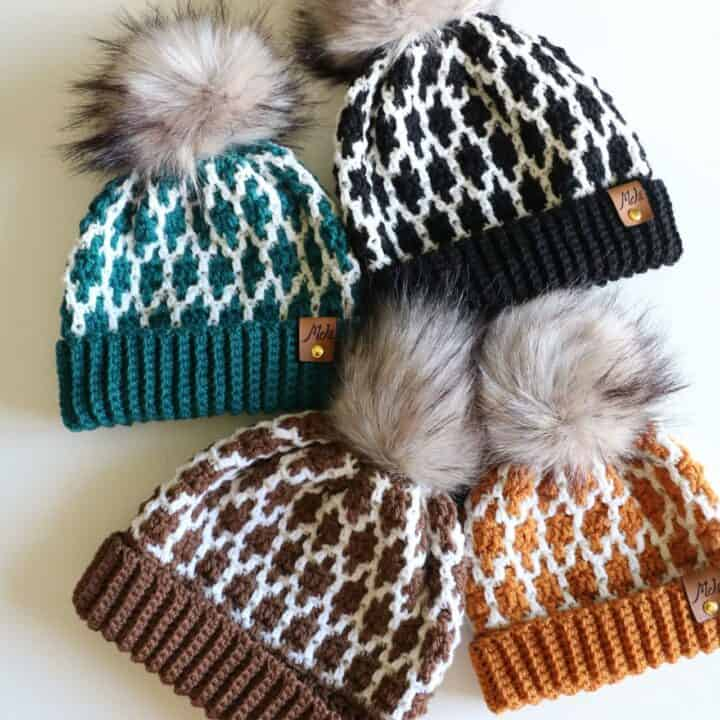 Mosaic hat collection