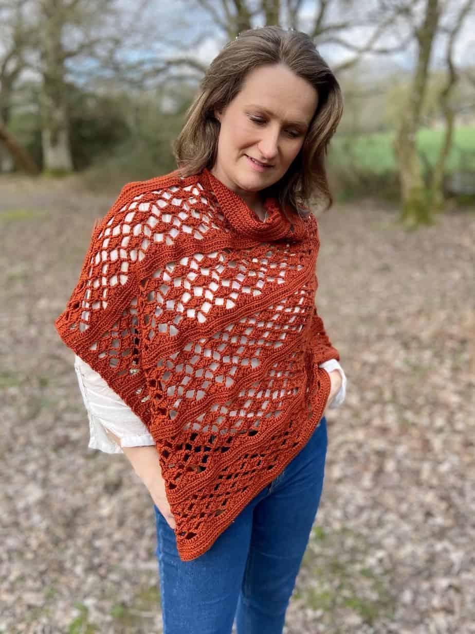 Picante crochet wrap pattern free 9 2