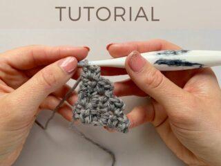 c2c crochet photo tutorial
